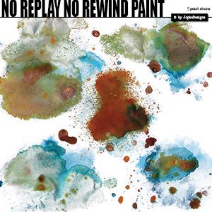 No Replay No Rewind Paint