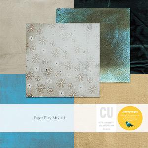 CU: Paper Play Mix # 1