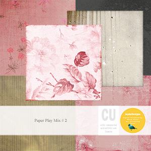 CU: Paper Play Mix # 2