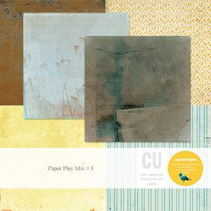 CU: Paper Play Mix # 3