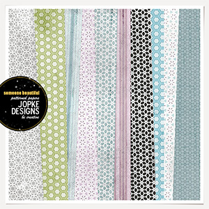 Someone Beautiful Patterned Papers