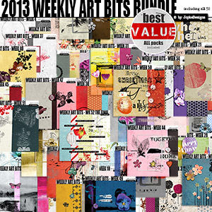 2013 Weekly Art Bits Bundle