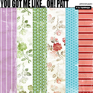 You Got Me Like... Oh! Patterned