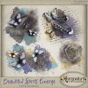 Beautiful Spirits Emerge {Art Accents} by Jumpstart Designs