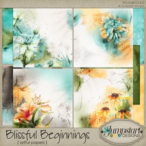 Blissful Beginnings { Artful Papers } by Jumpstart Designs