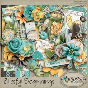 Blissful Beginnings { Kit } by Jumpstart Designs