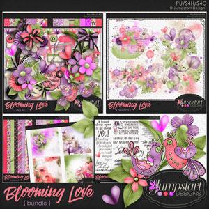 Blooming Love BUNDLE by Jumpstart Designs