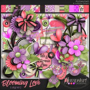 Blooming Love DIGI KIT by Jumpstart Designs