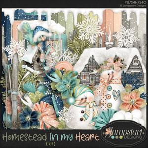 Homestead In My Heart KIT Jumpstart Designs