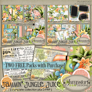 Jammin' Jungle Juice { Complete Collection } by Jumpstart Designs