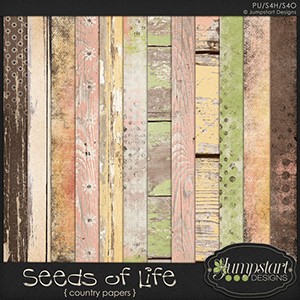 Seeds of Life { Country Papers } by Jumpstart Designs