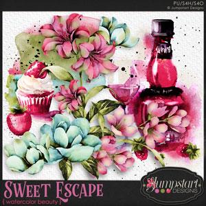 Sweet Escape { Watercolored Beauty } by Jumpstart Designs