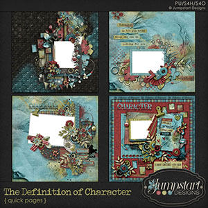 The Definition of Character { Quick Pages 1 } by Jumpstart Designs