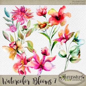 Watercolor Blooms 7