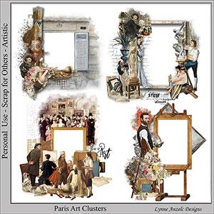 Paris Art Clusters