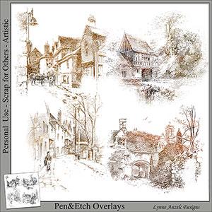 Pen & Sketch Overlays