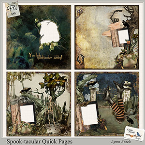 Spook-tacular Quick Pages