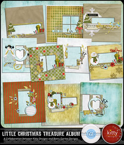 Little Christmas Treasure Quick Pages
