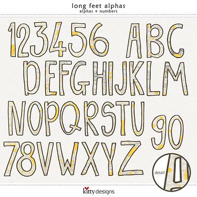 Long Feet Alphas