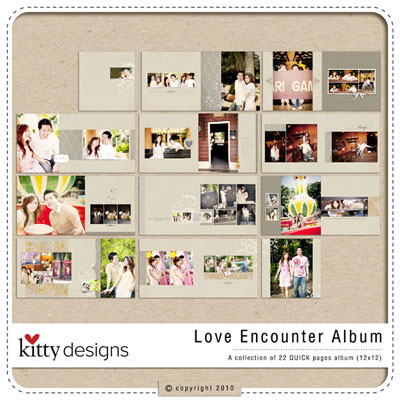 Love Encounter Album (Quick Pages)