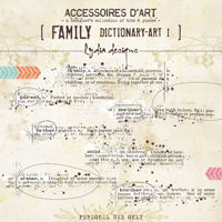 Family Dictionary-Art 1