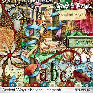 Ancient Ways Beltane Elements