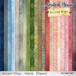 Ancient Ways Imbolc Papers