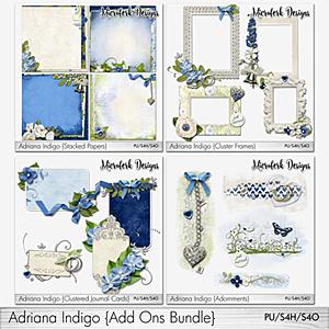 Adriana Indigo Add Ons Bundle