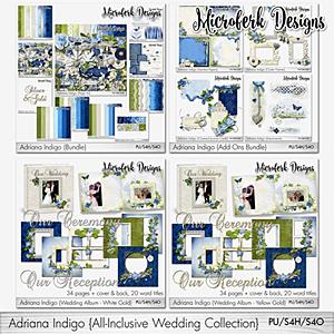 Adriana Indigo All Inclusive Wedding Collection