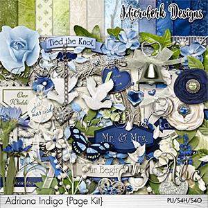 Adriana Indigo Page Kit