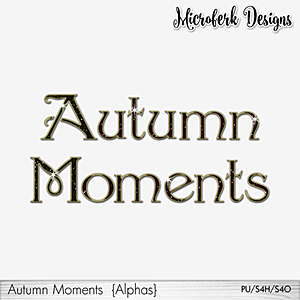 Autumn Moments Alphas