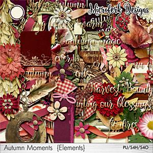 Autumn Moments Elements