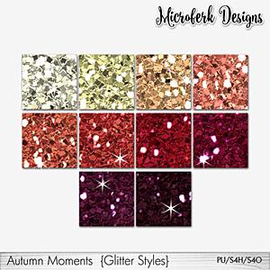 Autumn Moments Glitter Styles