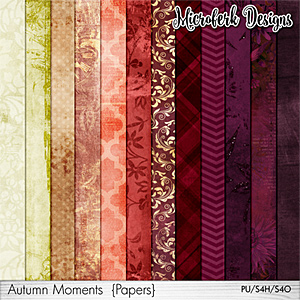 Autumn Moments Papers