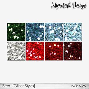 Brrrrr Glitter Styles