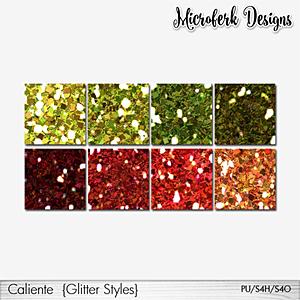 Caliente Glitter Styles