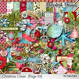Christmas Cheer Page Kit