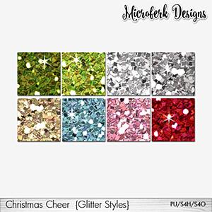 Christmas Cheer Glitter Styles