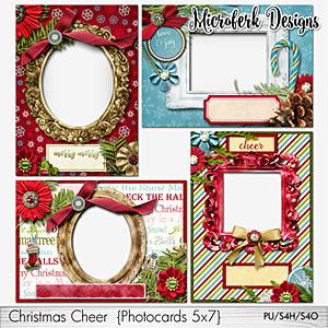 Christmas Cheer Photocards 5x7