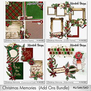 Christmas Memories Add Ons Bundle