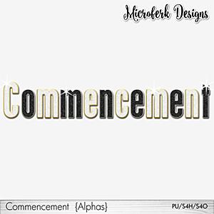 Commencement Alphas