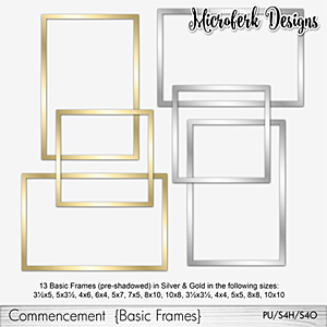 Commencement Basic Frames