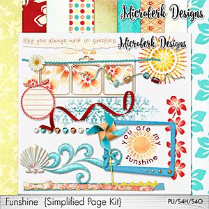 Funshine Simplified Wish Page Kit