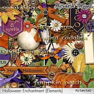 Halloween Enchantment Elements