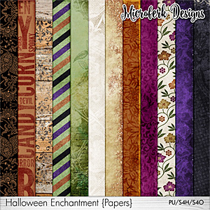 Halloween Enchantment Papers