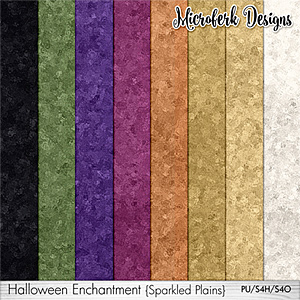 Halloween Enchantment Sparkled Plains