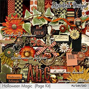 Halloween Magic Page Kit