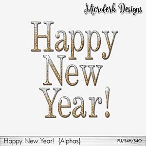 Happy New Year Alphas