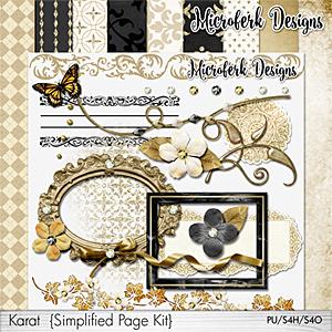 Karat Simplified Page Kit