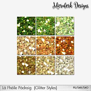 La Fheile Padraig Glitter Styles